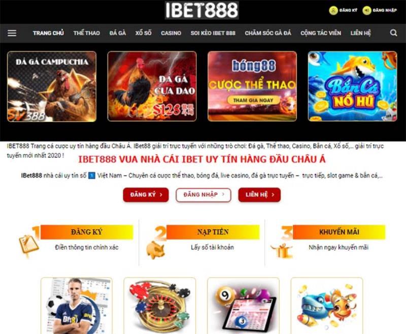 Sơ lược về nhà cái Ibet888